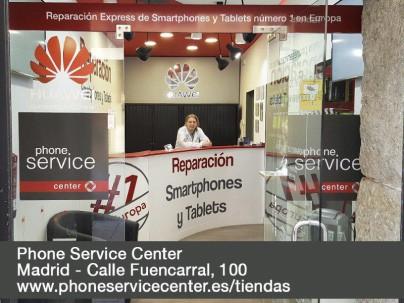 Reparacion de moviles y tablets Phone Service Center Calle Fuencarral 100