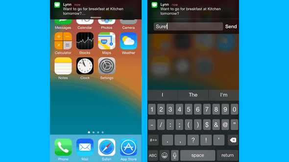Truco 1 para iOS 8 Interaccion con notificaciones