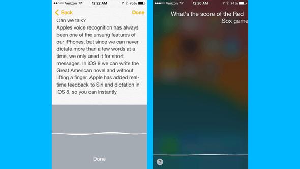 Truco 8 para iOS 8: Innovacion del dictado en las notas