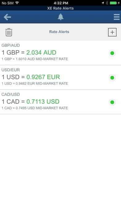 XE Conversor de divisas