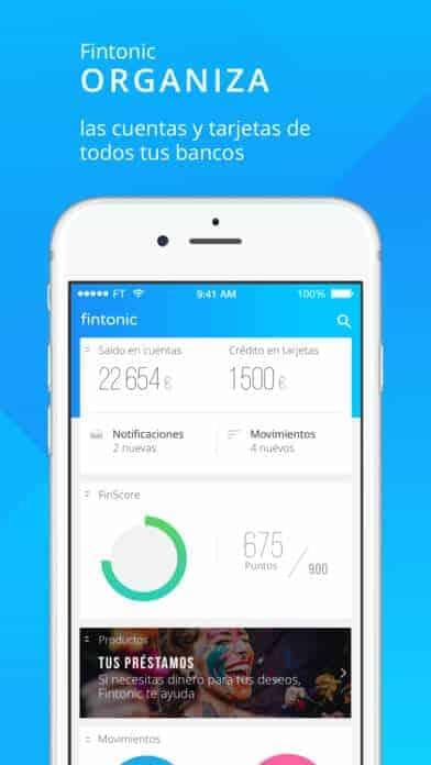Fintonic App gratuita para controlar las finanzas