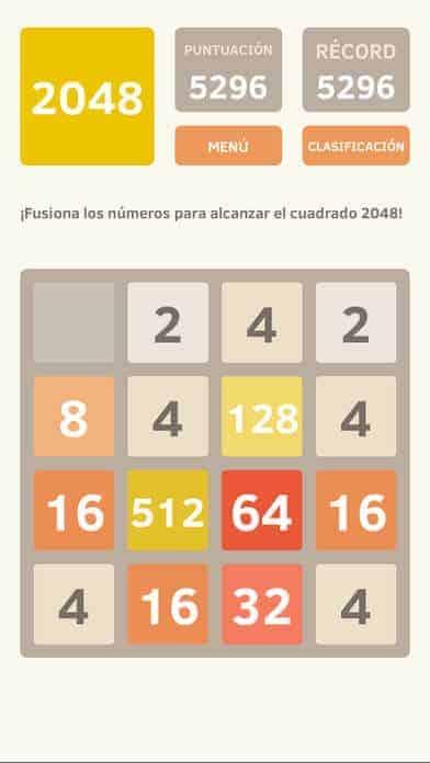 Juego 2048 App Store