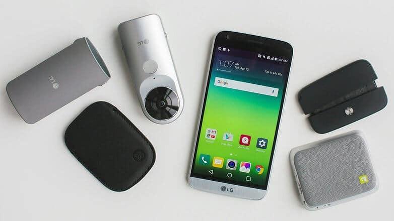 LG G5 movil modular