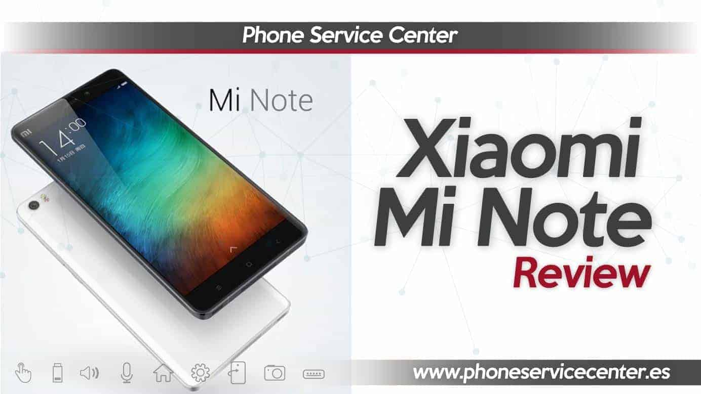 Review xiaomi Mi Note