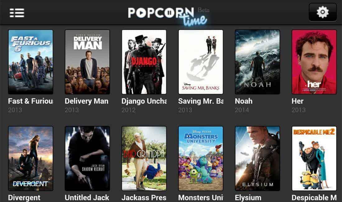 Popcorn Time en iOS