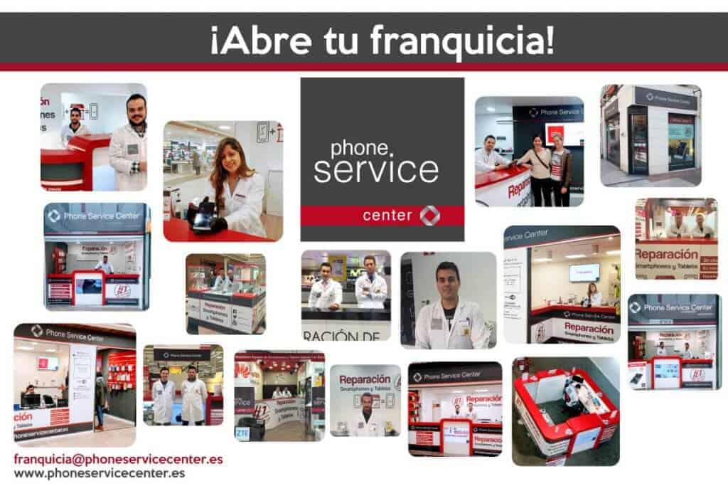Tiendas Phone Service Center Franquicia
