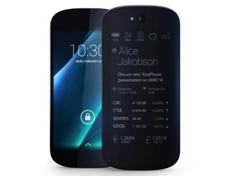 Yotaphone 2 pantallas
