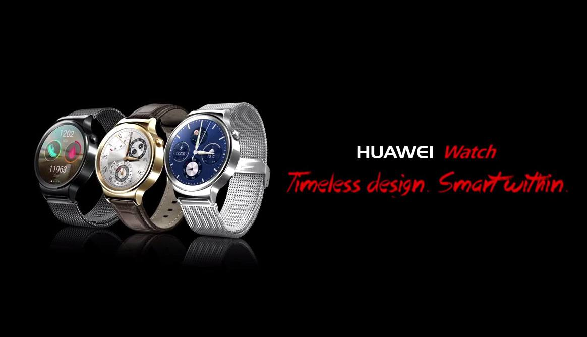 Lanzamiento europeo del Huawei Watch