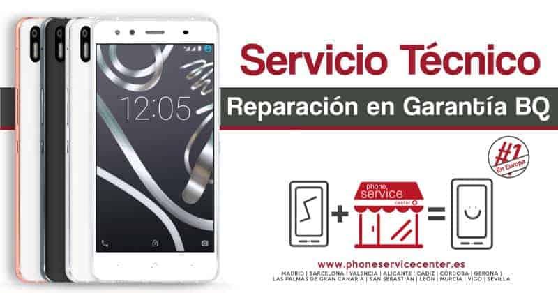 Servicio tecnico bq y Reparamos en garantia