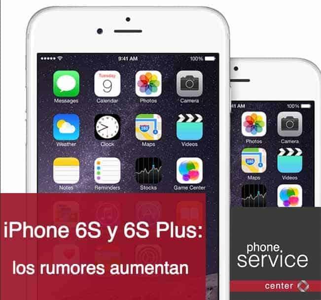 rumores de iPhone 6S