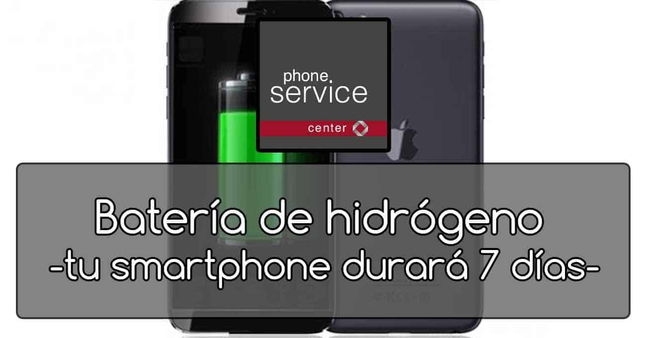 nueva bateria de hidrogeno