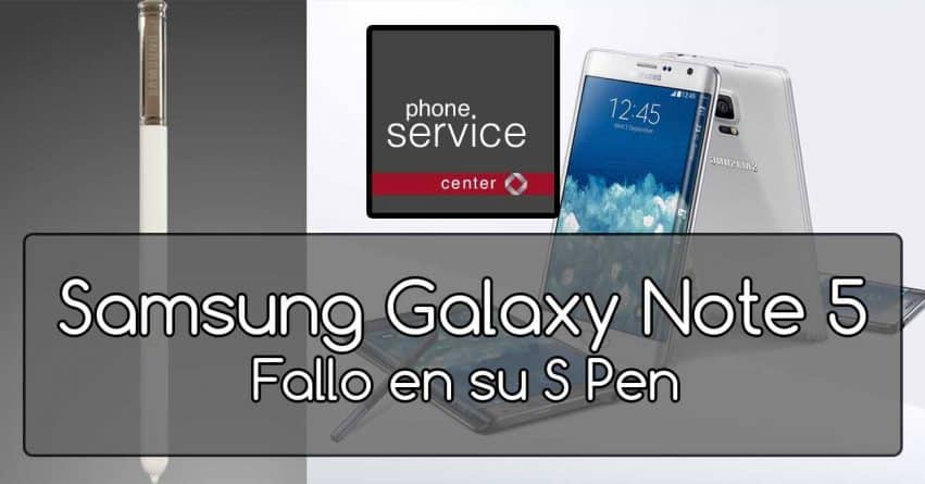 Samsung Galaxy Note 5 PenGate