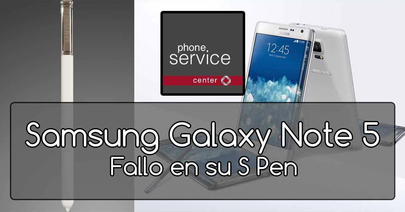 Samsung Galaxy Note 5 PenGate