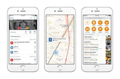 iOS9 Mapas