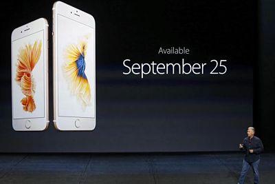 iPhone 6S y 6S Plus lanzamiento