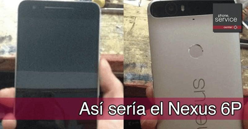 Asi seria el Nexus 6P