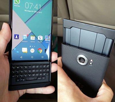 Diseño BlackBerry Priv