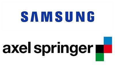 Asociacion Samsung con Axel Springer