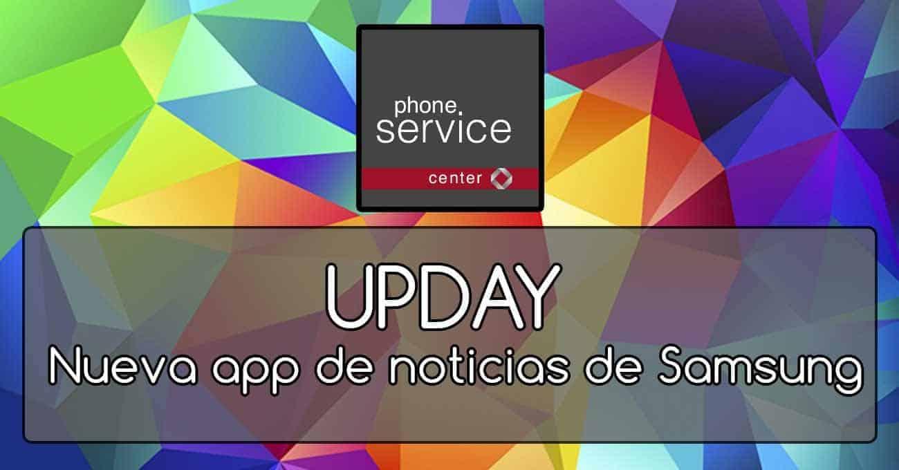 UPDAY nueva app de Samsung