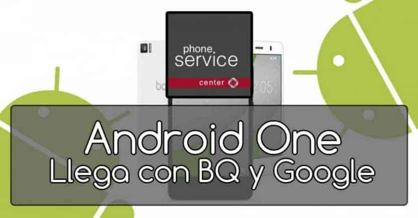 Android One con BQ y Google