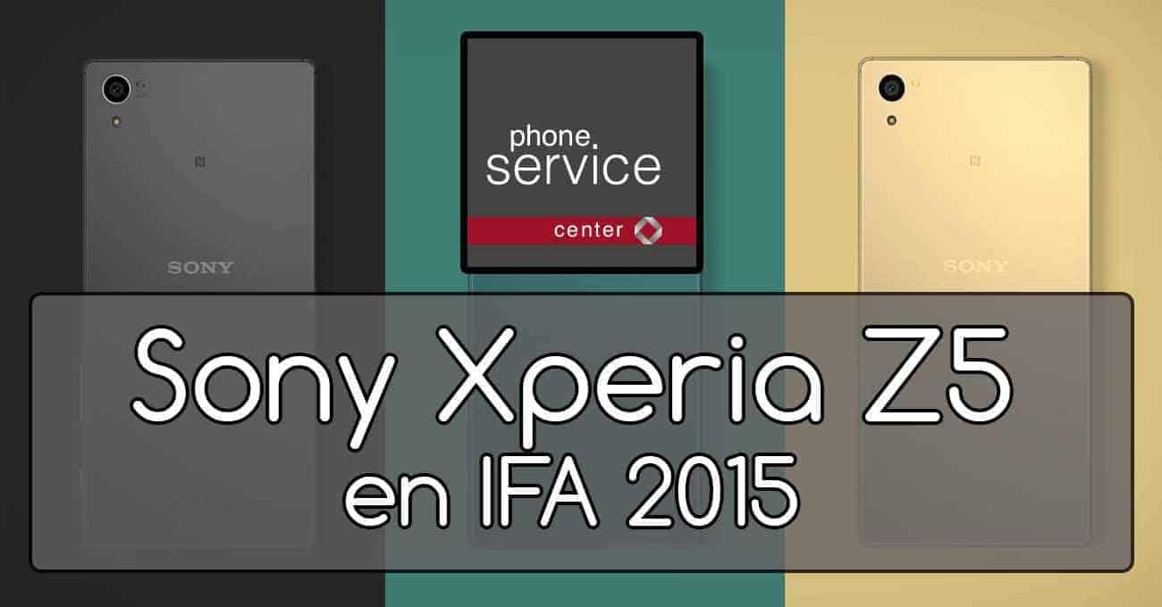 Sony Xperia Z5 en IFA 2015