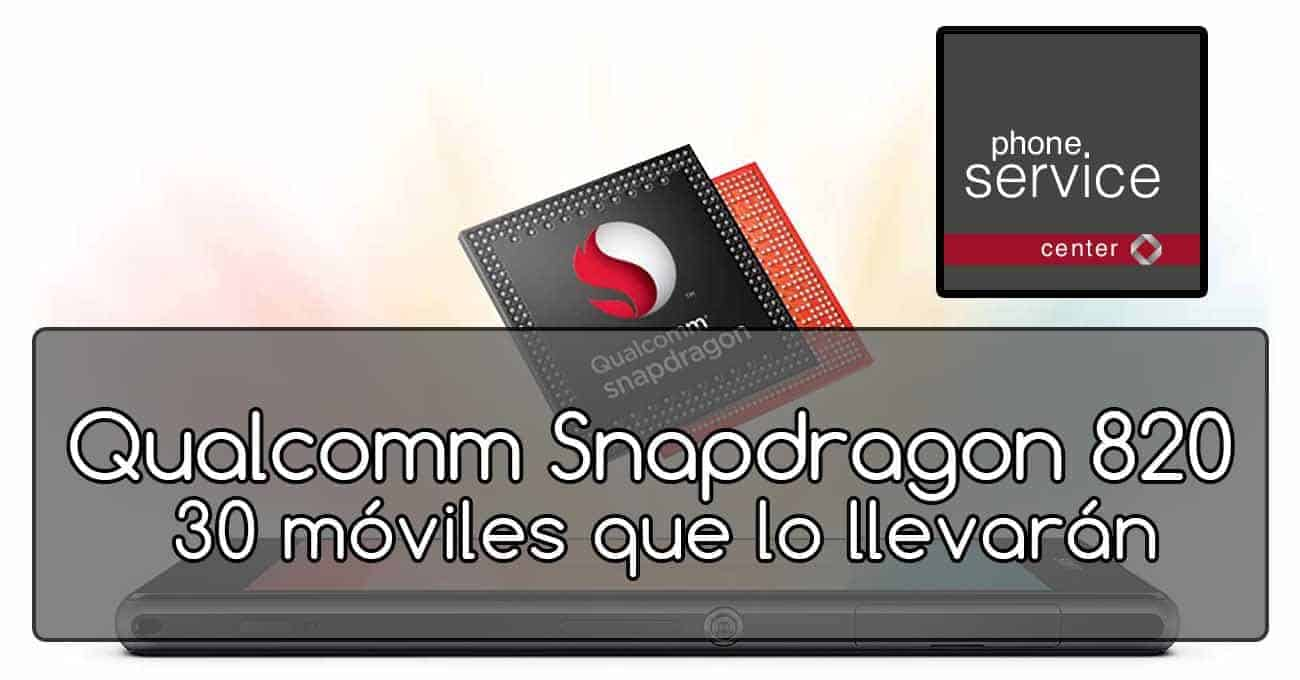 Qualcomm Snapdragon 820 en moviles