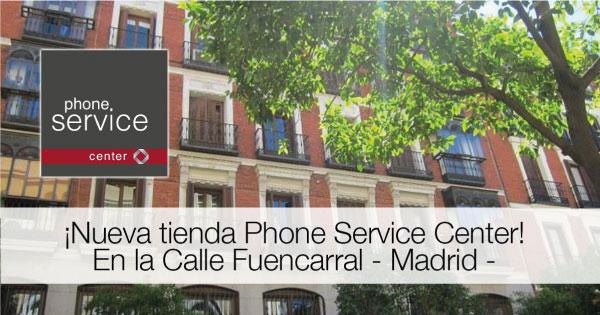 Nueva tienda de Reparacion de tele fonos y tablets calle fuencarral 100