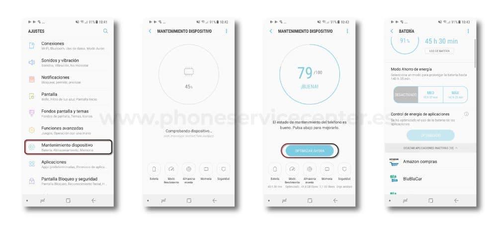 Aplicaciones que mas bateria consumen en tu movil Android