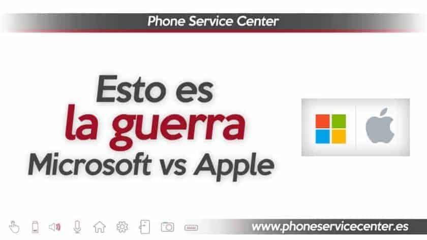 Microsoft y Apple