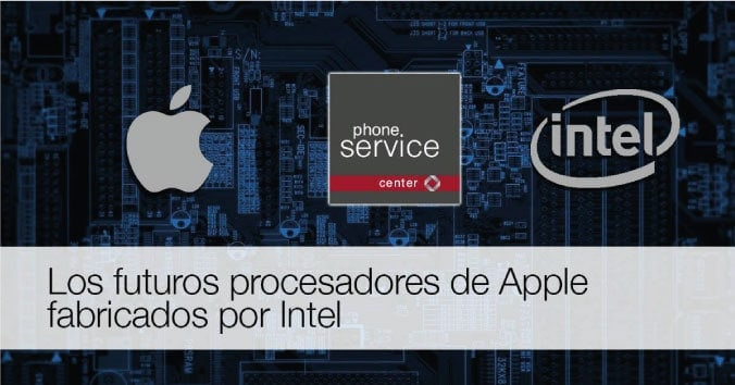 iPhone 7 con chips de Intel