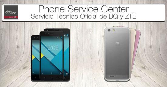 Servicio Tecnico Oficial BQ y ZTE