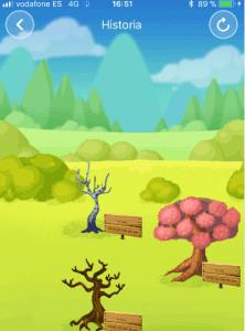 arbol muerto en forest
