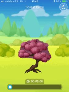 arbol completado en forest