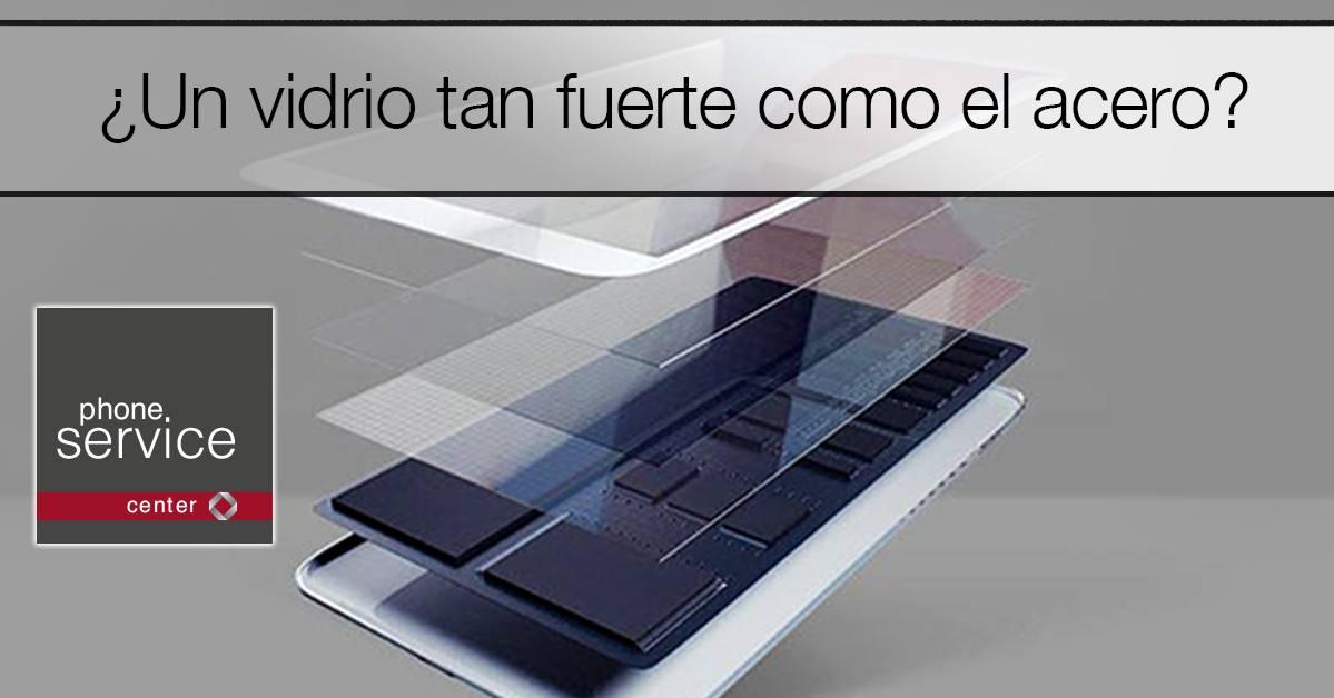 vidrio de smartphones