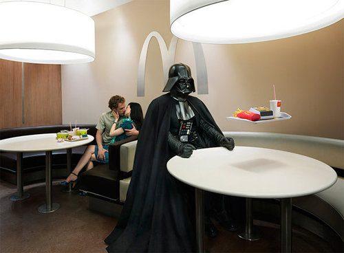 Darth Vader Mcdonalds