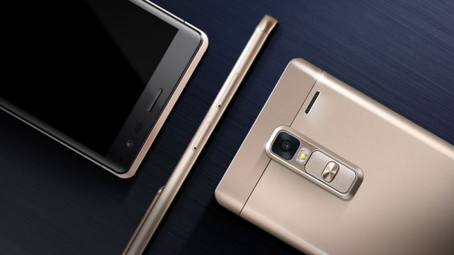 LG Zero metal y oro