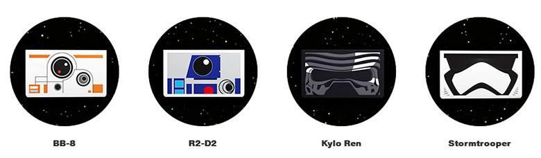 Star Wars Verizon modelos
