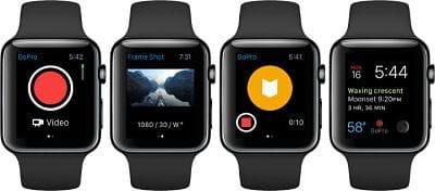 GoPro con Apple Watch