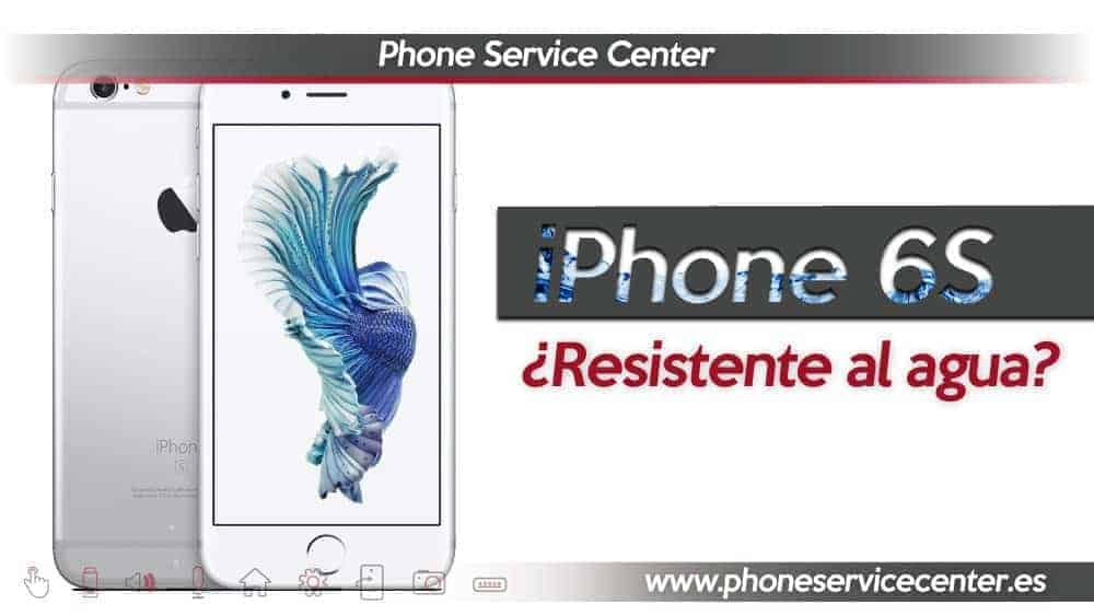 iphone 6S resistente al agua