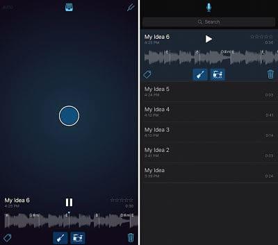 Music Memos App