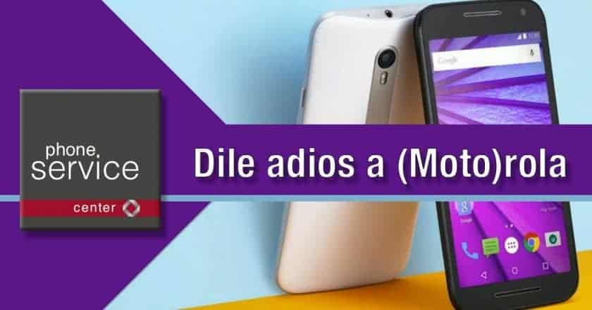 Adios a Motorola
