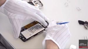 Conectar el Flex de la bateria