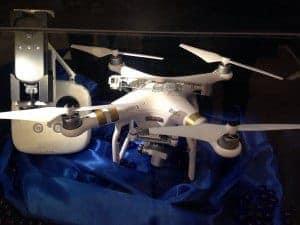 MWC16 Dron Epson Realidad Virtual con gafas para ver en directo lo que ve tu dron