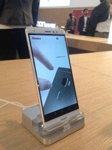 Huawei Mate S en la MWC16