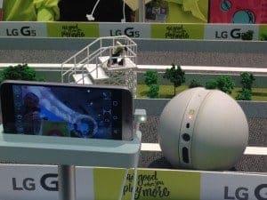 LG Rolling Bot en la MWC16