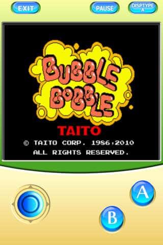 Bubble Double videojuegos de los 80