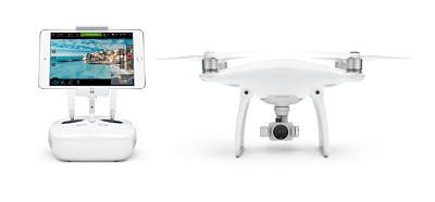 DJI Phantom 4 y iPad