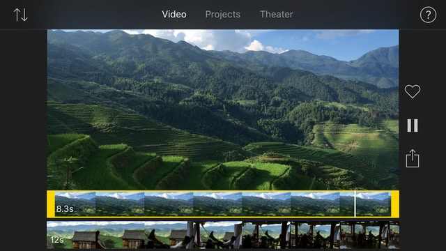 Entorno iMovie