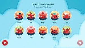App para niños en iOS