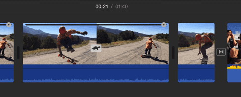 Velocidad iMovie